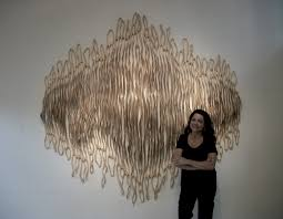 new artist abstract wood sculptures by caprice pierucci