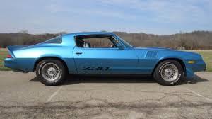 blue 1979 camaro 1979 chevrolet camaro z28 survivor 35k actual for sale