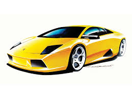 car lamborghini drawing lamborghini murcielago sketch 2002 picture 2 of 18