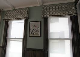 Valances For Living Rooms The Dining Room Windows The Valances Stately Kitsch