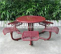 outside chair and table set metal outdoor tables welded wire mesh outdoor chair and table set