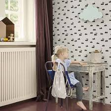 Rabbit Home Decor Ferm Living Rabbit Wallpaper Off White