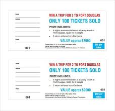 template raffle tickets free download raffle ticket template free