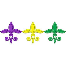 fleur de lis mardi gras mardi gras fleur de lis applique machine embroidery design digitized pattern 700x700 jpg