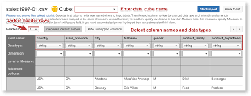 Data Mapping Template Excel Excel And Csv File Upload Eazybi Documentation
