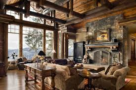Collection Rustic Themed Room Photos The Latest Architectural - Rustic decor ideas living room