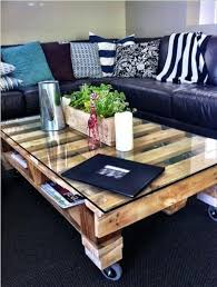 Diy Wood Pallet Coffee Table by 25 Unique Diy Pallet Table Ideas 99 Pallets
