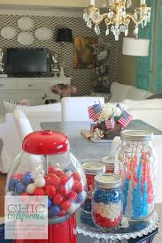 4th of july home decor inspired designs monday easy 4th of july decorating chic california