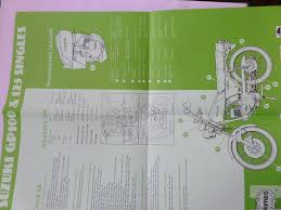 haynes suzuki gp100 gp125 1978 1982 workshop maintenance manual
