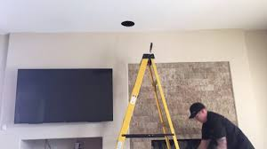 home theater speakers in wall or ceiling pro audio home theater installation