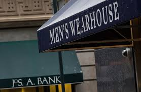 jos a bank and men u0027s wearhouse finally the right fit in men u0027s