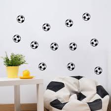 online get cheap wall stickers boy room aliexpress com alibaba 10 pcs football soccer ball wall sticker kids rooms boy bedroom art vinyl children wall