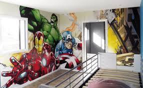 deco chambre garcon heros heros fresque mural chambre enfant jpg 780 480