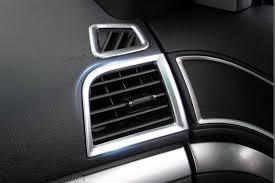 Ford Explorer 2016 Interior Interior Dashboard Upper U0026 Side Air Vent Outlet Cover Trim 4pcs