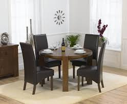 Solid Wood Round Dining Table For  Insurserviceonlinecom - Round dining room tables for 4