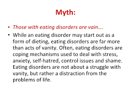 Definition Of Vanity Eating Disorders Symptoms And Responses