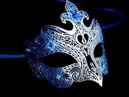 blue masquerade masks fantasia blue edition masquerade mask venetian filigree