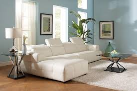 sofa with wide chaise darby contemporary leather sectional sofa with wide chaise