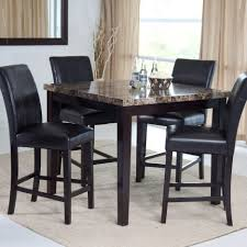 white and wood dining tables black marble top dining table stone chairs room