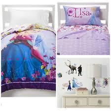 Frozen Bed Set Disney Frozen Bedding Sheets Set Comforter Wall Decals Elsa