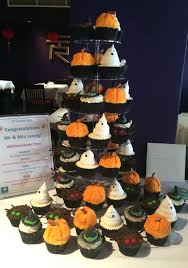 halloween wedding cupcakes u2013 bessie u0027s bakery