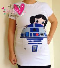 maternity shirt princess leia costume pregnancy shirt star