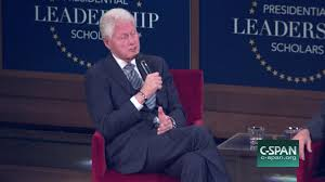 former presidents clinton bush discuss leadership friendship jul