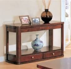 Oak Sofa Table Sofa Table With Storage Drawers Foter