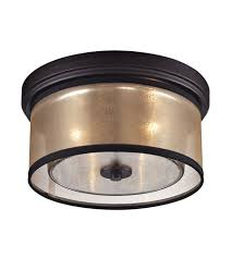 flush mount ceiling light fixtures oil rubbed bronze elk 57025 2 diffusion 2 light 13 inch oil rubbed bronze flush mount