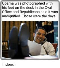 Feet On The Desk Obama Was Photographed With His Feet On The Desk In The Oval