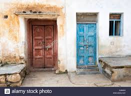 old indian wooden house doors stock photos u0026 old indian wooden