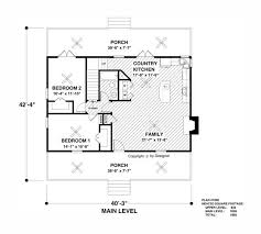 level house plans the springside cottage 2313 2 bedrooms and 2 5 baths the house