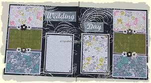 wedding scrapbook albums 12x12 ragsnehali my creative journey in scrapbooking and paper
