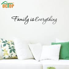 online get cheap inspiration wall stickers family aliexpress com family is everything wall stickers inspiring words vinyl wall decals home decor adhesive stickers china