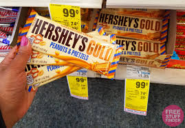completely free finder free hershey s gold candy bars at cvs