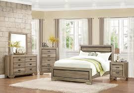 homelegance beechnut panel bedroom set light elm b1904 1