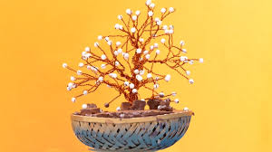 how to make artificial bonsai tree craft tutorial youtube