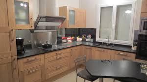 cuisine en chene massif réalisation cuisines couloir modele truro chene massif naturel et