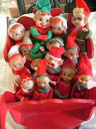 Vintage Christmas Lawn Ornaments by 115 Best Elf On The Shelf Vintage Elves Images On Pinterest