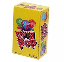 ring pop boxes ring pop candy 24 ct pack of 4 ebay