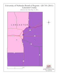 lancaster county gis map of nebraska administration district map