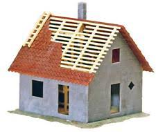 small house construction house under construction kit faller b 309 130309 ho scale ebay