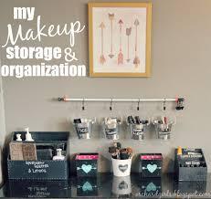 Storage And Organization Orchard Girls Diy Makeup Storage And Organization Hopefully This
