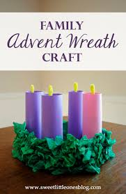 sweet little ones advent wreath craft