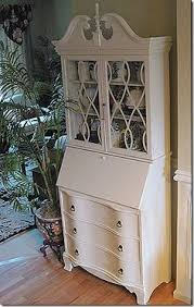 antique secretary desk with hutch design country french