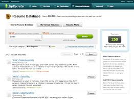 Careerbuilder Resume Database Search Resume Free Resume Example And Writing Download