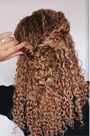 hair extensions curly hairstyles curly hairstyles natural hair 3b 3c curls half updo braids