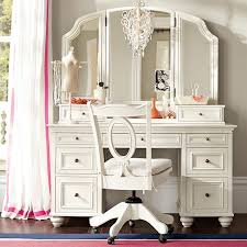 How To Organize A Vanity Table Chelsea Vanity Pbteen