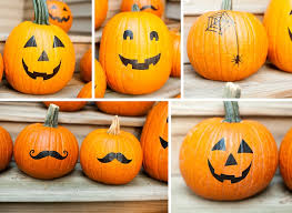 all things katie marie 60 No Carve Pumpkin Decorating Ideas