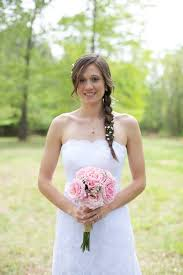 country wedding flower dresses rustic pink wedding filled with burlap and baby s breath